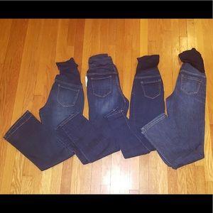 Bundle/ Lot of Maternity Jeans